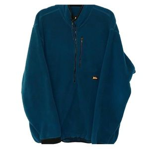 Vintage Half Zip REI Fleece Jacket XL